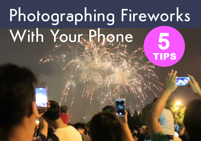 how to take photos of firework